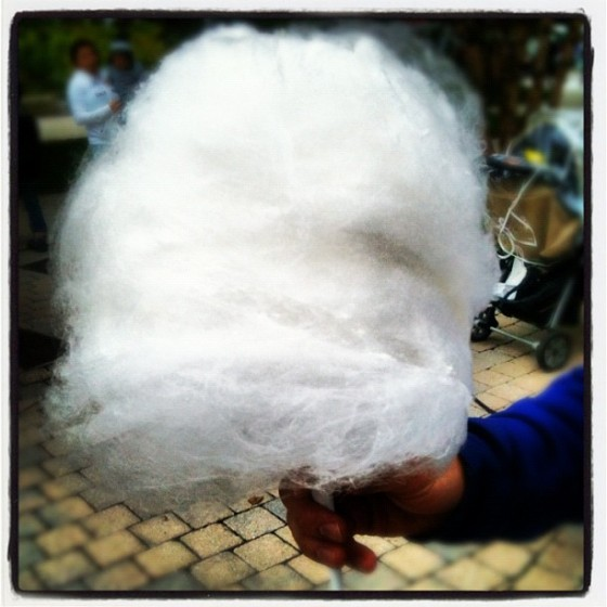 Maple Syrup Cotton Candy
