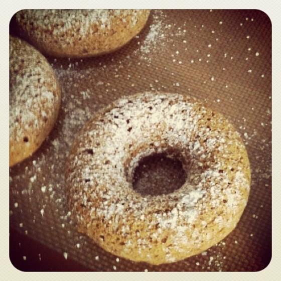 Vegan Pumpkin Donuts with Spelt Flour