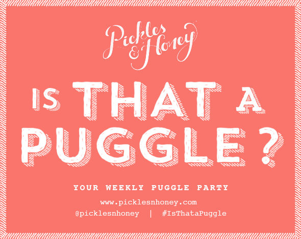 Is That a Puggle? Your Weekly Puggle Party // picklesnhoney.com
