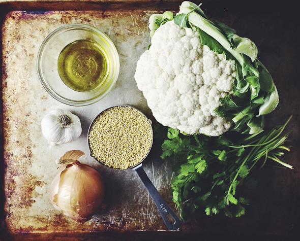 Cauliflower Millet Mash (Vegan & Gluten-Free)   picklesnhoney.com